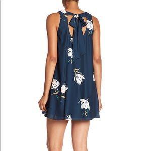 Amanda Uprichard tie back tank floral marni dress
